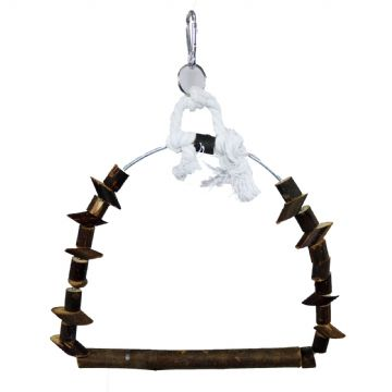 Pet Ting Wooden Arch Swing
